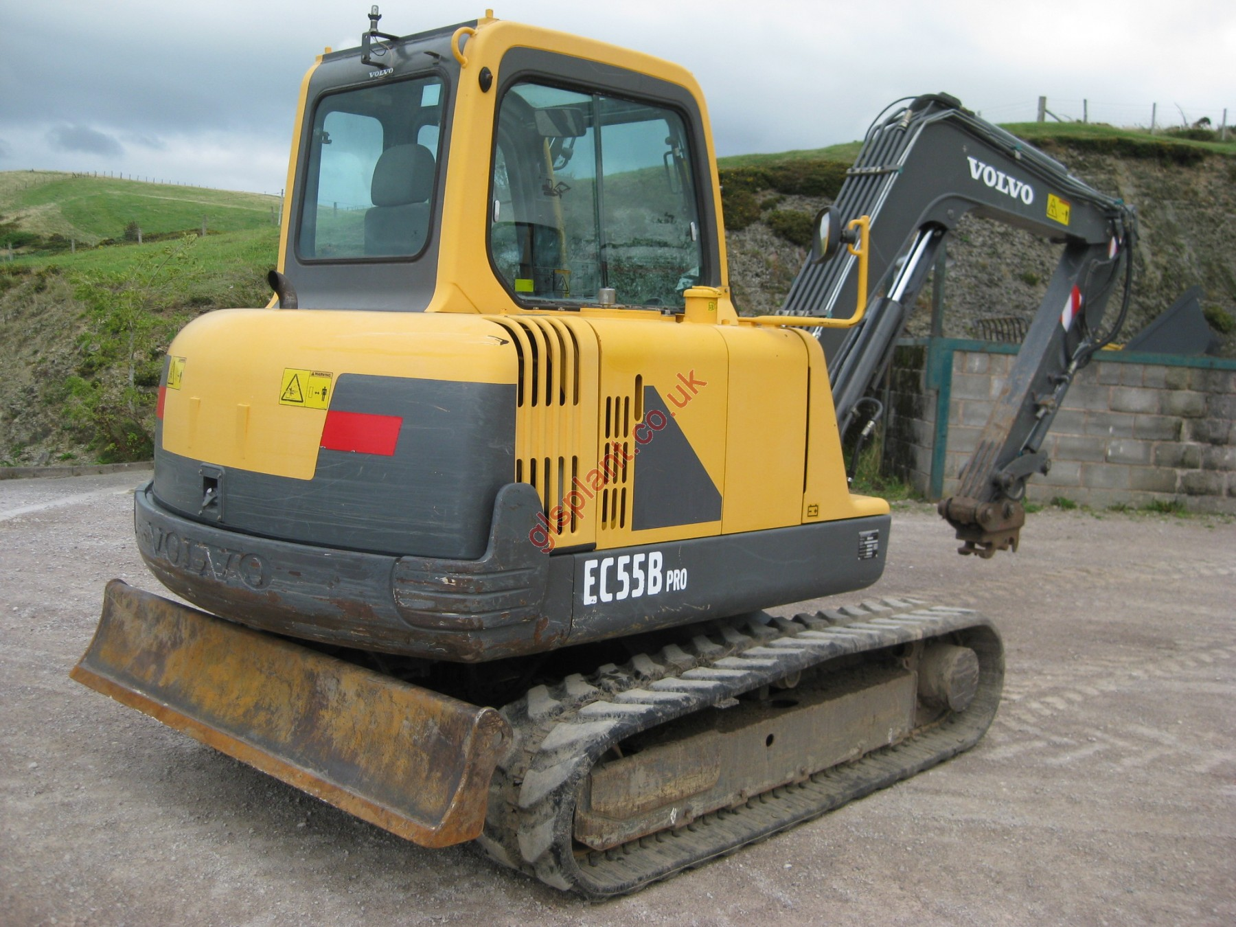 Volvo EC55B Pro Midi Excavator For Sale