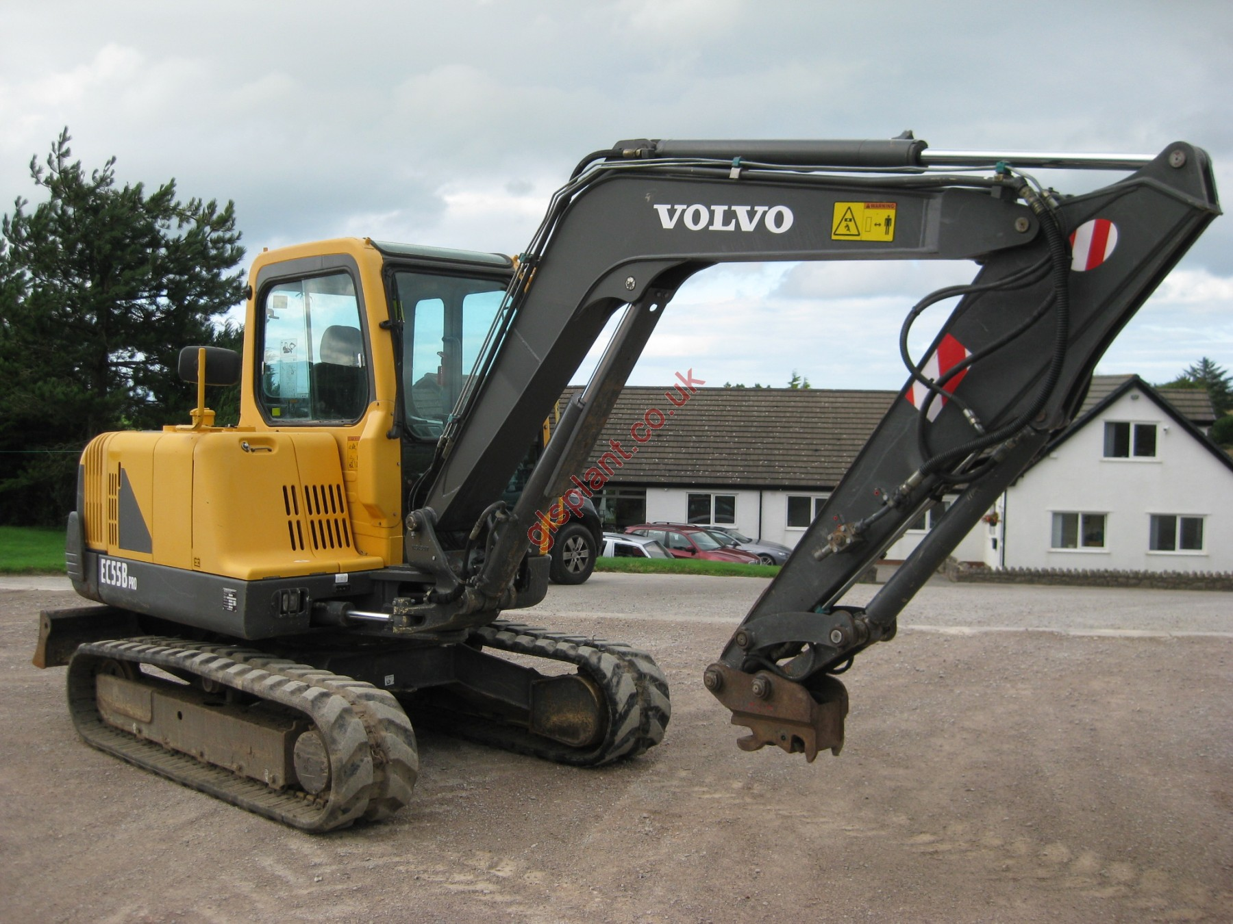 Volvo EC55B Pro Midi Excavator For Sale
