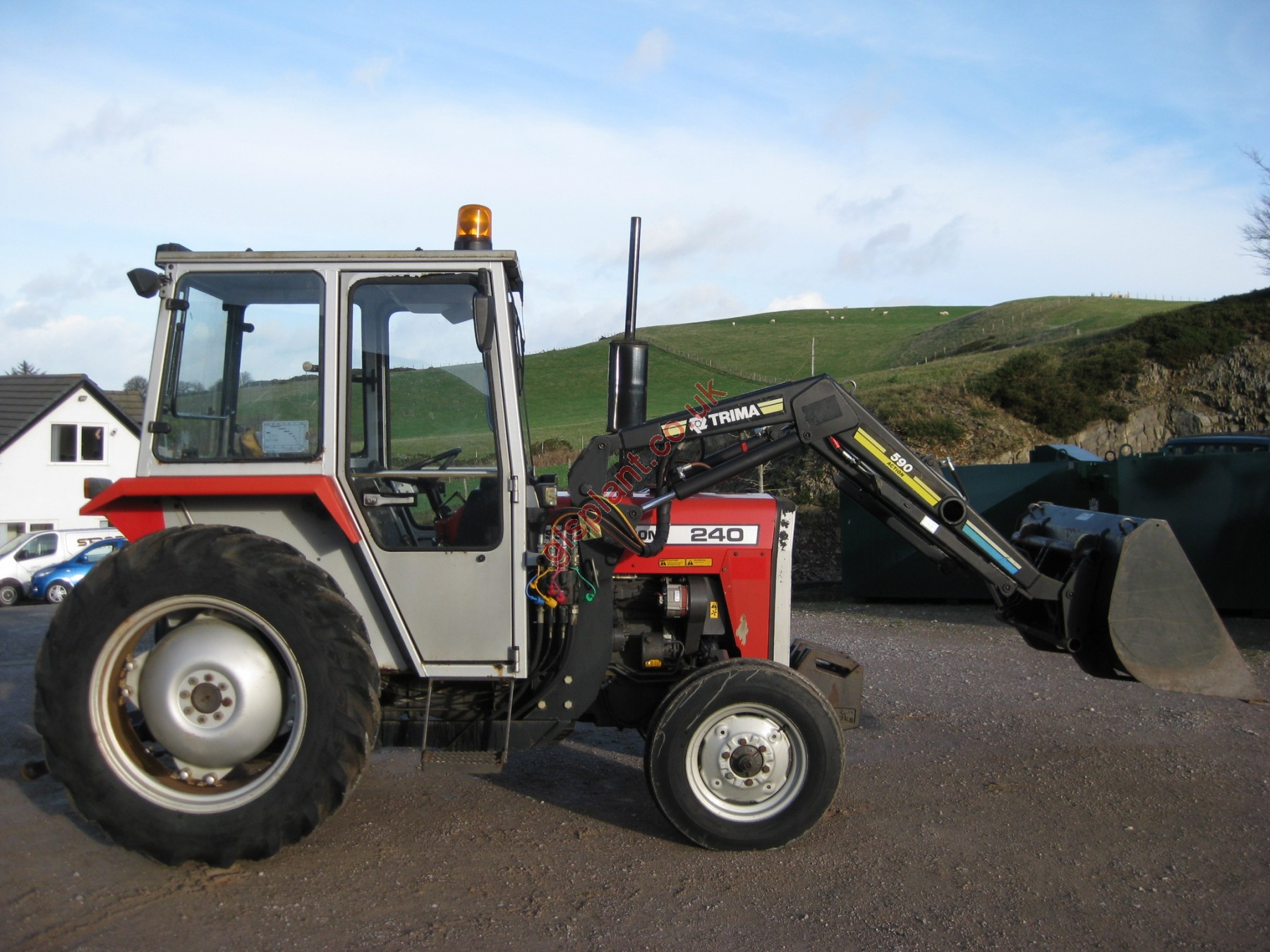 Mf 240 Tractor Grill : Massey ferguson mf tractor for sale